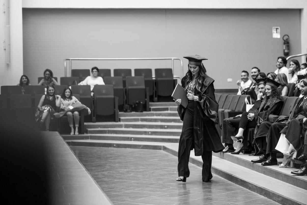 la laurea di Mina